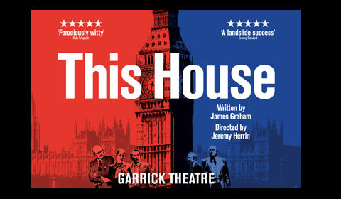 This House Logo & Poster - Garrick Theatre, London