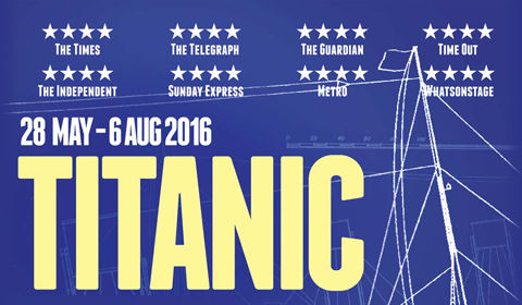 Titanic at Charing Cross Theatre tickets
