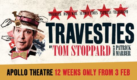 Travesties at Apollo Theatre tickets