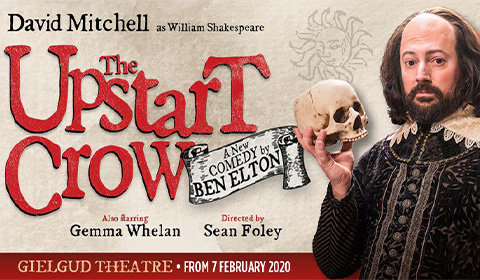 Upstart Crow at Gielgud Theatre tickets