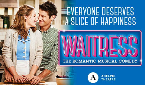 Waitress at Adelphi Theatre tickets