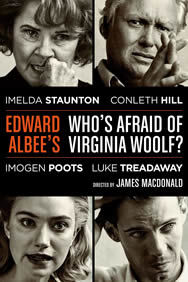 Who's Afraid of Virginia Woolf? on Stage at the Harold Pinter Theatre in London
