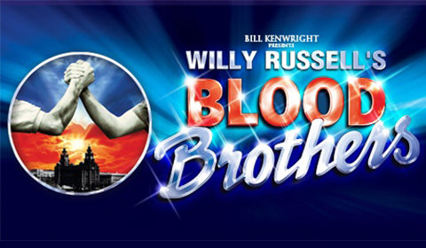 Blood Brothers Logo & Poster - Richmond Theatre, Richmond