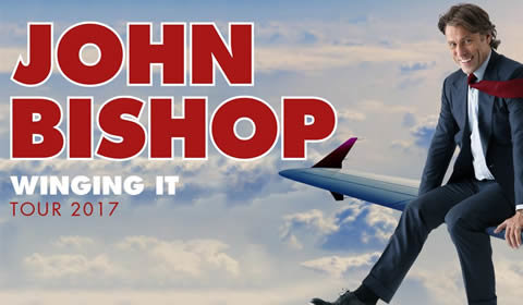 John Bishop: Winging It at London Palladium tickets