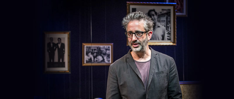 David Baddiel: My Family - Not the Sitcom Logo & Poster - Playhouse Theatre, London