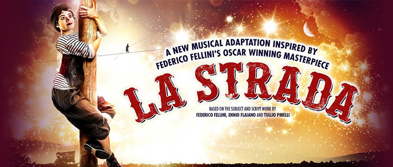 La Strada Logo & Poster - The Other Palace, London