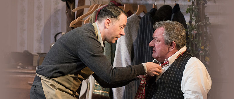 The Dresser Logo & Poster - Duke of York's Theatre, London