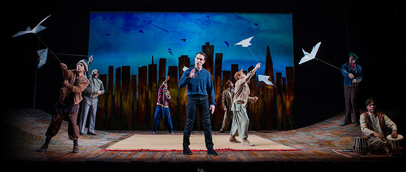 The Kite Runner Logo & Poster - Wyndham's Theatre, London