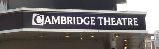 Cambridge Theatre London Seating Plan Amp Reviews Seatplan