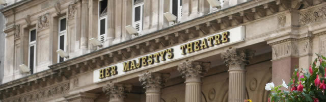 Her Majesty's Theatre, London logo