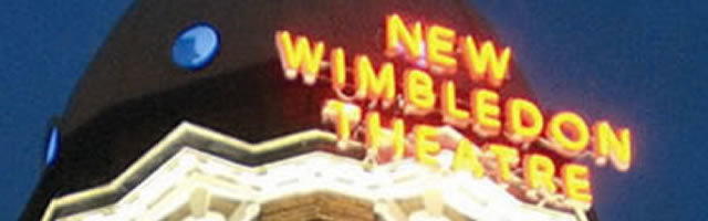 New Wimbledon Theatre, London logo