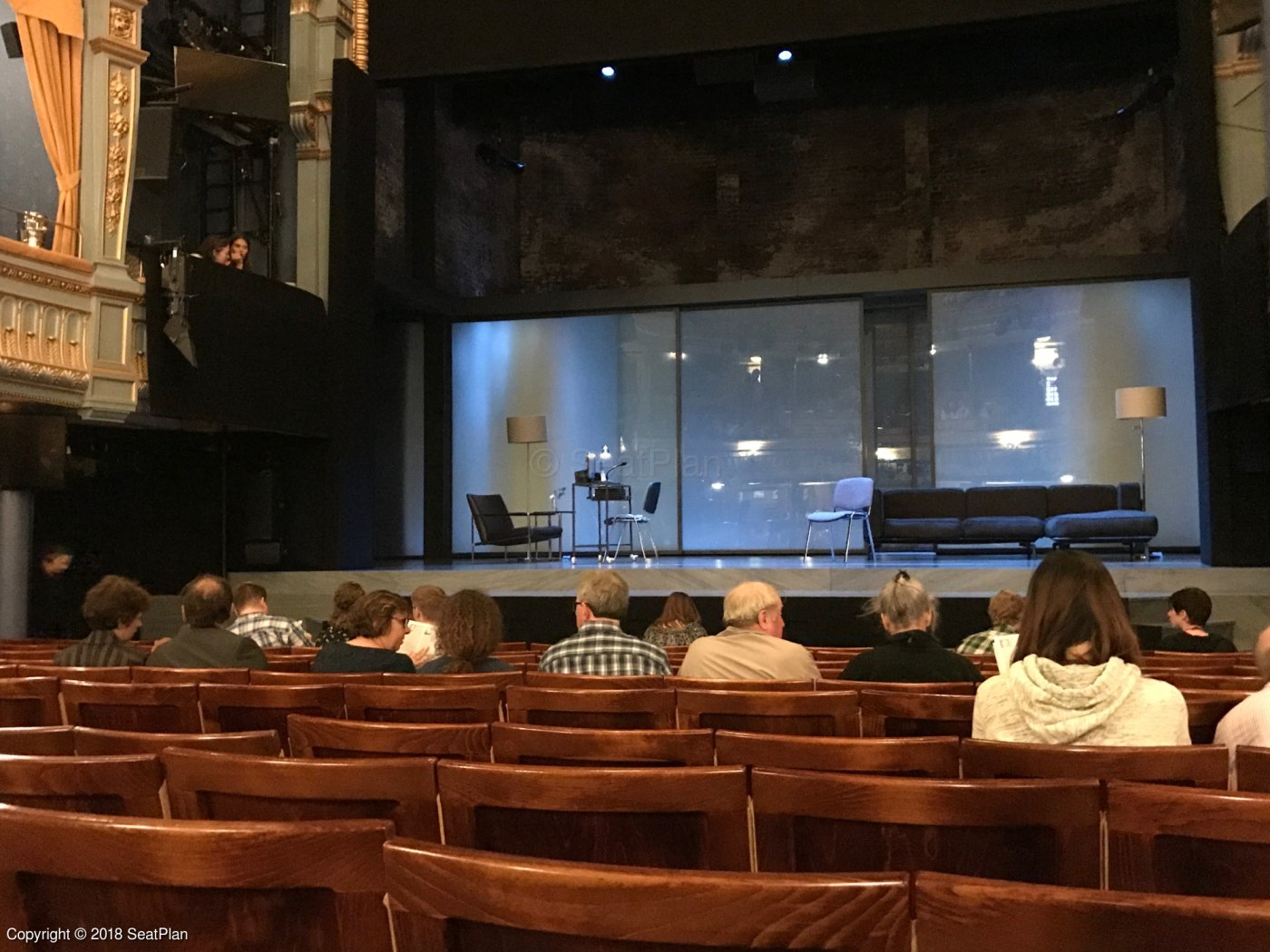 Good seat, bad seats – in theatre, surely the play's the ...