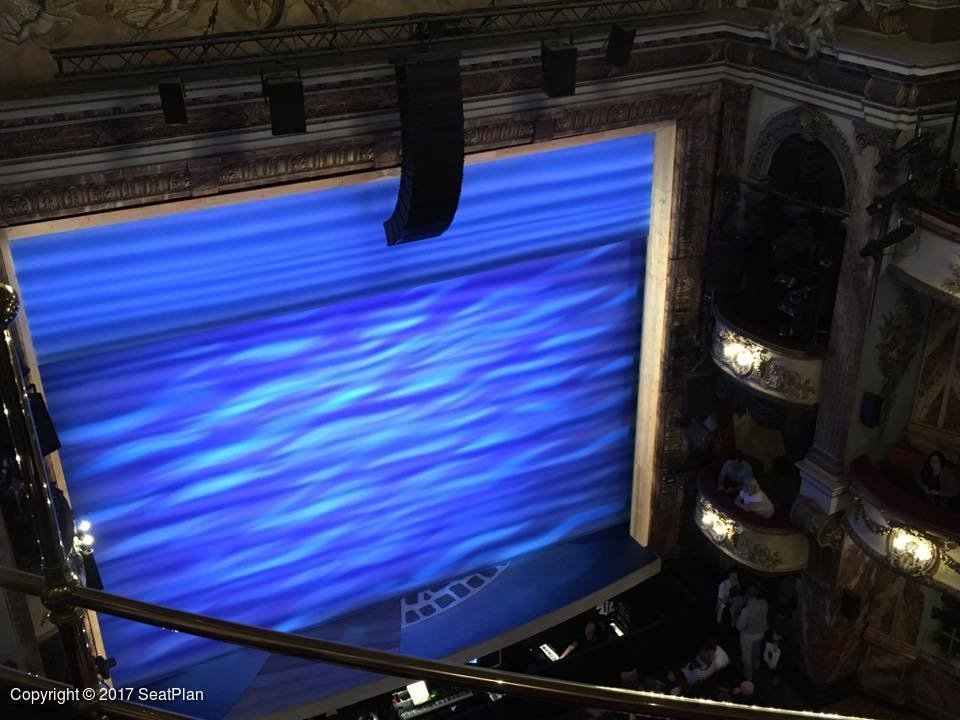Mamma mia tickets london 284 reviews seatplan for Balcony novello theatre