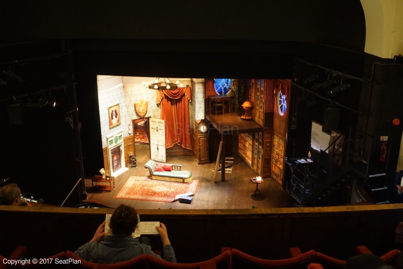 [ ! ] Duchess Theatre View From Dress Circle