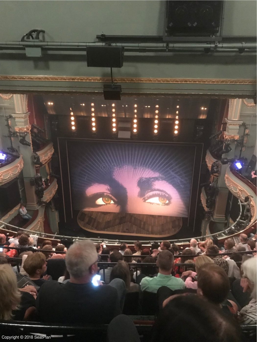 Savoy Theatre London seat guide and chart