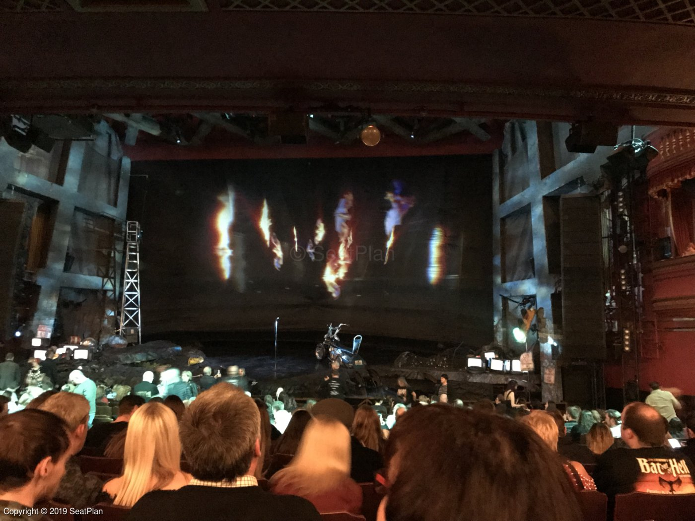 Dominion Theatre London Seating Plan & Reviews | SeatPlan