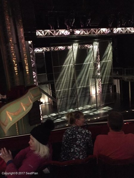 C27 Royal Circle - Piccadilly Theatre - Seat Review & View Photo