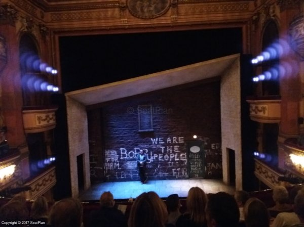 E17 Dress Circle - Gielgud Theatre - Seat Review & View Photo