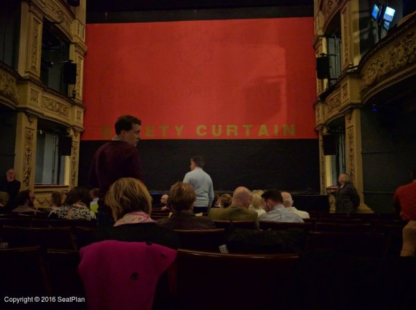 K13 Stalls - Duke of York's Theatre - Seat Review & View Photo