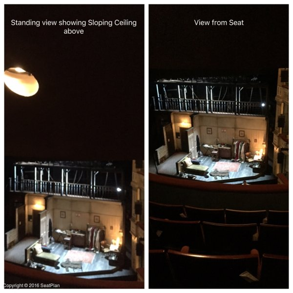 E7 Upper Circle - Duke of York's Theatre - Seat Review & View Photo