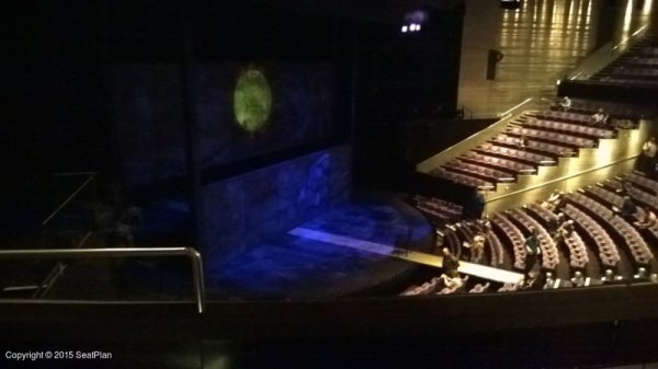National Theatre - Olivier Circle View From Seat & Best Seat