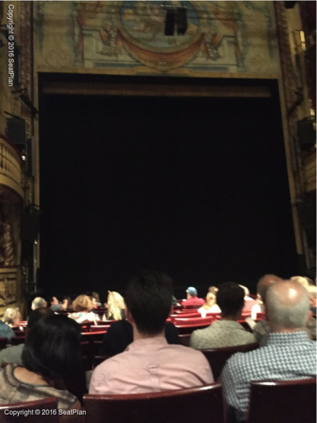 L16 Stalls - Playhouse Theatre - Seat Review & View Photo