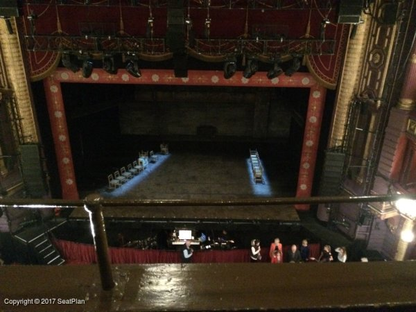grand tier palace theatre seating plan manchester