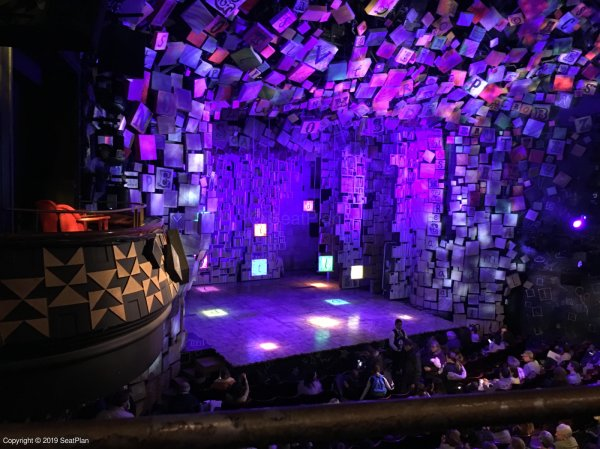 Cambridge Theatre London Seating Plan Amp Reviews Seatplan