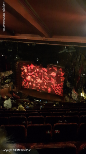 Standing4 Grand Circle - Lyceum Theatre - Seat Review & View Photo