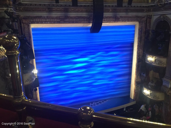 Novello Theatre Grand Circle View From Seat Amp Best Seat