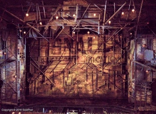Prince Edward Theatre Dress Circle