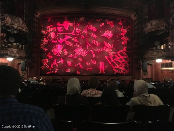 V24 Stalls - Lyceum Theatre - Seat Review & View Photo