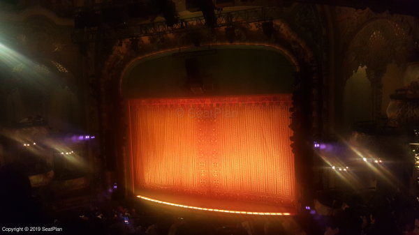 New Amsterdam Theatre Mezzanine View From Seat & Best Seat ...