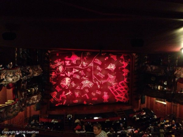 E34 Royal Circle - Lyceum Theatre - Seat Review & View Photo
