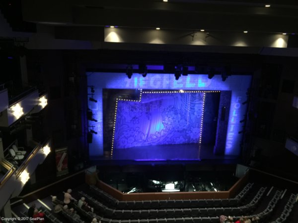 New Victoria Theatre Upper Circle View From Seat & Best Seat Tips