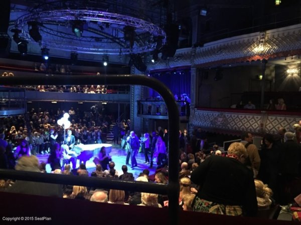 Old Vic Theatre Dress Circle View From Seat & Best Seat Tips