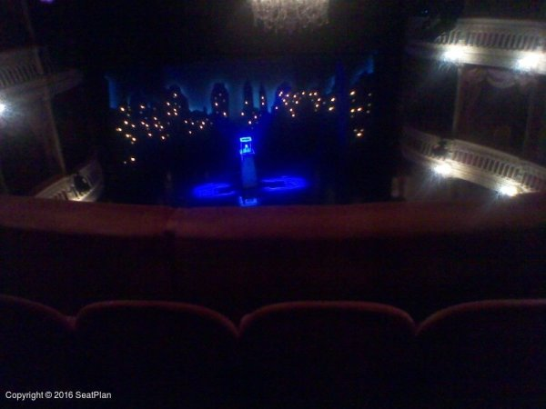 Upper Circle Criterion Theatre Seating Plan London