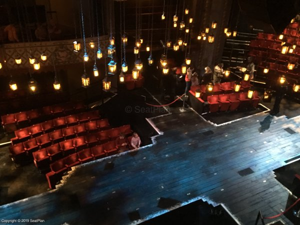 Admirable Old Vic Theatre Lilian Baylis Circle View From Seat Best Gmtry Best Dining Table And Chair Ideas Images Gmtryco