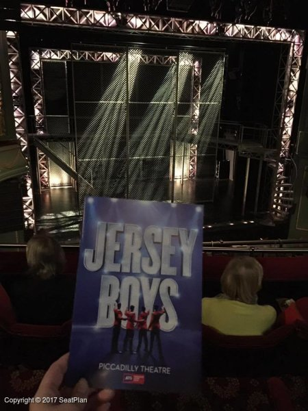 C23 Royal Circle - Piccadilly Theatre - Seat Review & View Photo