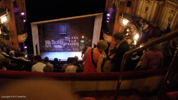 H14 Grand Circle - Gielgud Theatre - Seat Review & View Photo
