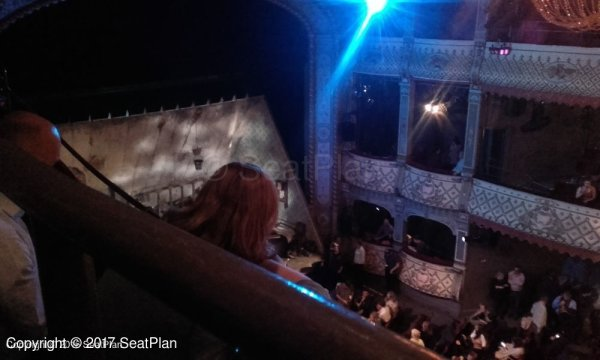 Old Vic Theatre Lilian Baylis Circle View From Seat & Best