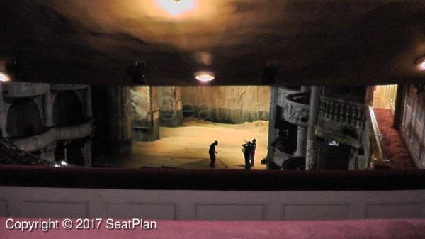 Shaftesbury Theatre Royal Circle