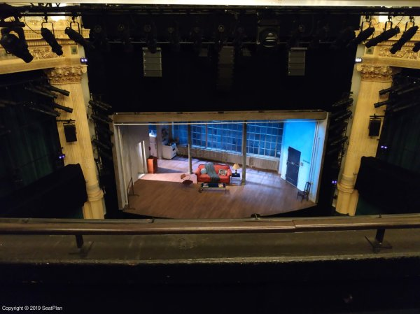 Hudson Theatre Balcony View From Seat Best Seat Tips New