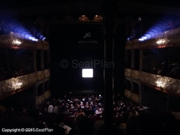E18 Dress Circle - Old Vic Theatre - Seat Review & View Photo