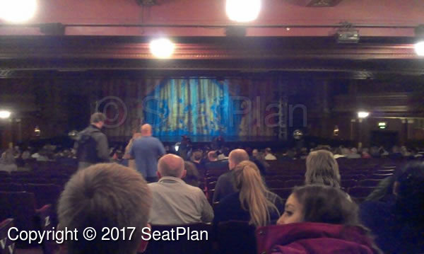 Dominion Theatre ZZ25 View From Seat Photo